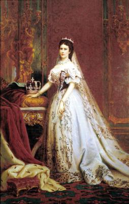 Bertalan Sekey. Empress Elizabeth of Austria, Queen of Hungary and Bohemia