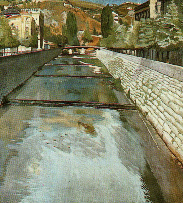 Stanley Spencer. Water
