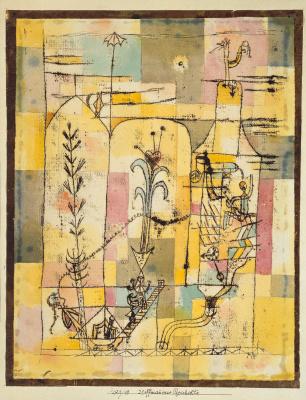 Paul Klee. Tale Of Hoffmann I