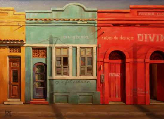Irina Bogdanova. The facades of the old Rio