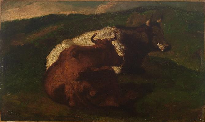 Rose Bonhur. Cows