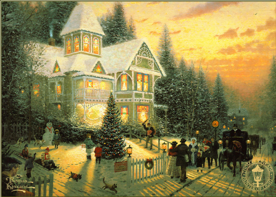 Thomas Kincaid. Victorian Christmas