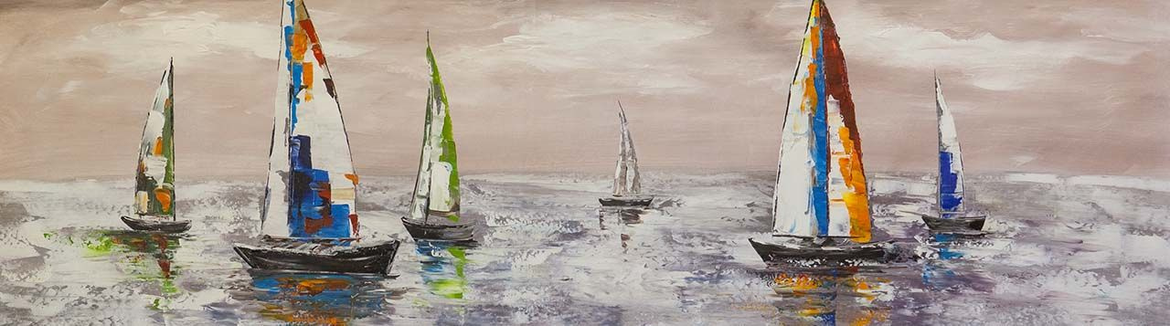 Brian dupre. Multicolored yachts N3