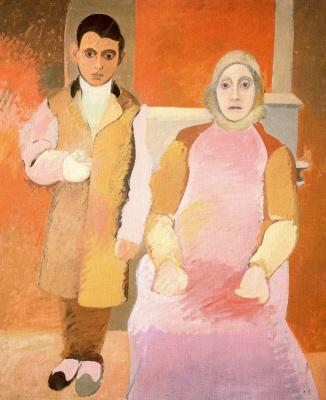 Аршиль Горки. Художник и его мать