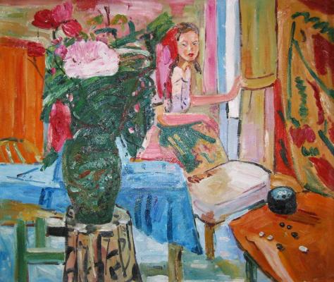 Йен Пин. Букет цветов