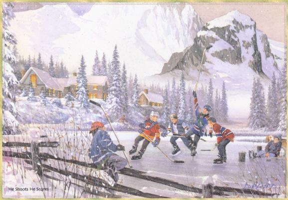 Douglas Laird. Hockey
