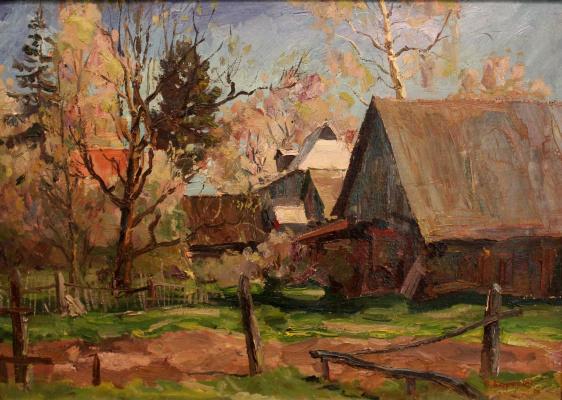 Victor Tikhonovich Karjakin. Old yard