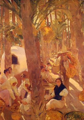 Хоакин Соролья (Соройя). Пальмовая роща в Эльче