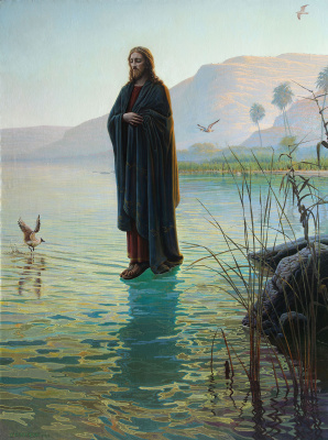 Sushienok64 @ mail.ru Mikhailovich Sushenok Igor. Walking on the waters.