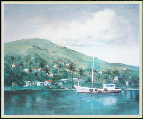 Причал рыбацких лодок