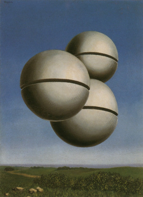 René Magritte. Voice of space