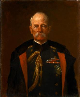 Фредерик Слей Робертс, 1-й граф Робертс Кандагарский, выдающийся британский военачальник, фельдмаршал. 1898