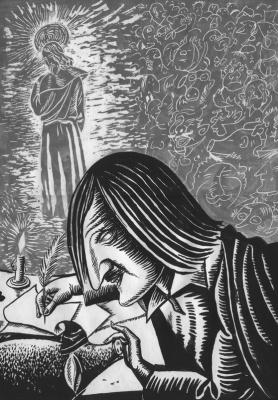 """Valentine Catharsin. """"The tragedy of Gogol"""""""