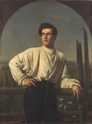 Orest Adamovich Kiprensky. Portrait of A.F. Shishmarev