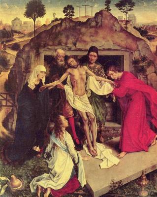 Рогир ван дер Вейден. Положение во гроб