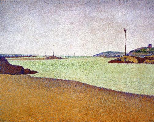 Paul Signac. Saint-Briac. Beacons