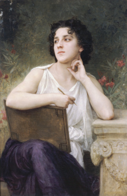William-Adolphe Bouguereau. Inspiration