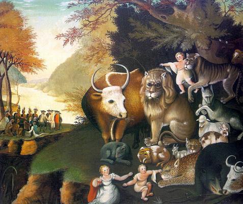 Эдвард Хикс. Животные