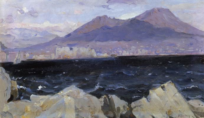 Mikhail Vasilyevich Nesterov. The Adriatic sea