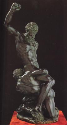 Michelangelo Buonarroti. Two Samson and the Philistine