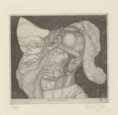 Paul Klee. Comedian