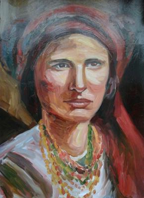 Stetskaya Alexandrovna Elena. Portrait of an Unknown