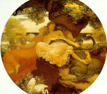 Frederic Leighton. Apples