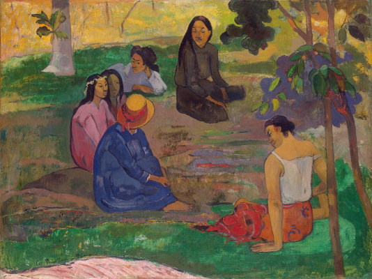 Paul Gauguin. Conversation