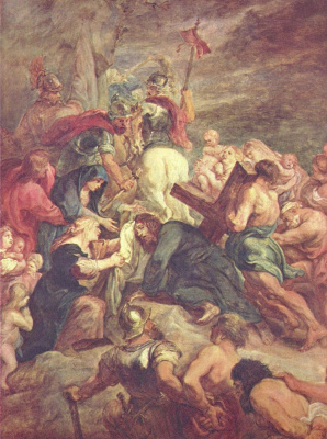 Peter Paul Rubens. The Carrying Of The Cross