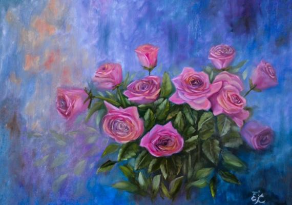 Елена Выбиранец. Розы