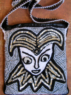 "Tatyana Turanova. Art bag ""Harlequin"""