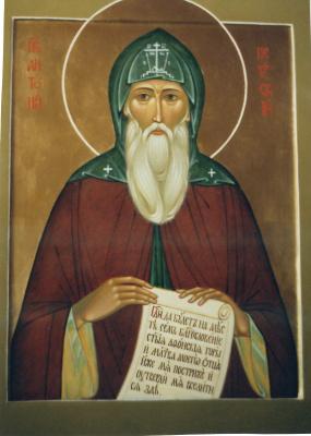 Ирина Александровна иванова. Icon of the Rev Anthony Pechersky