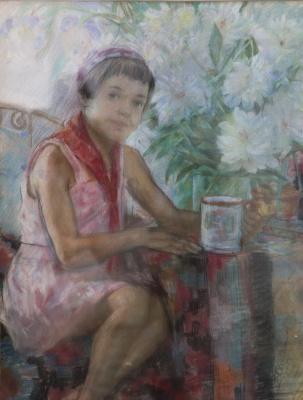 Пионерка (Девочка с кружкой)