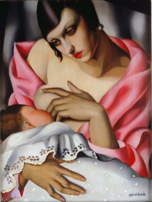 Tamara Lempicka. Motherhood