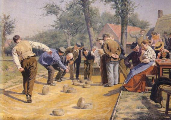 Реми Коггх. Игра в шары