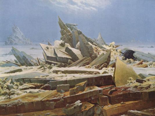 Caspar David Friedrich. Polar sea