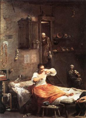 Джузеппе Мария Креспи. Искатель блох
