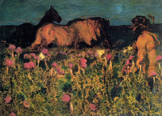 Mikhail Vrubel. The night