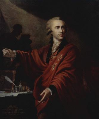 Иоганн Баптист Лампи (старший). Портрет графа Алексея Мусина-Пушкина