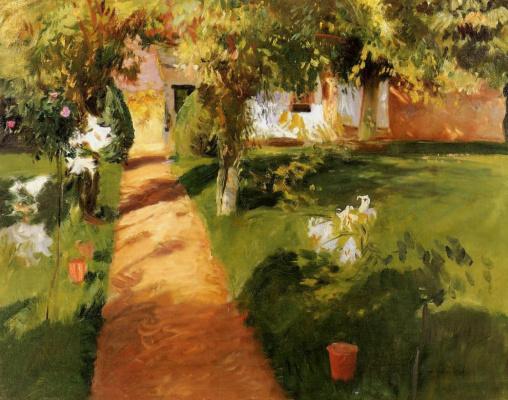 John Singer Sargent. Garden Millett