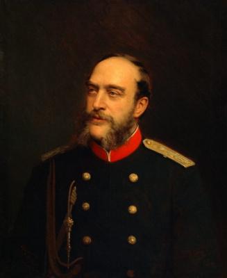 Иван Николаевич Крамской. Портрет герцога Г. А. Мекленбург-Стрелицкого