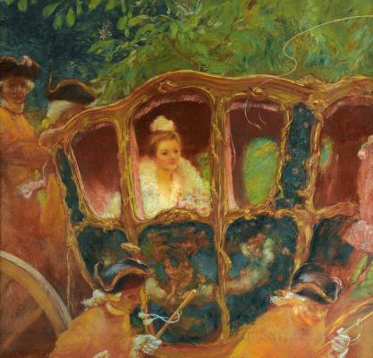 Gaston la Touche France 1854 - 1913. Cinderella.