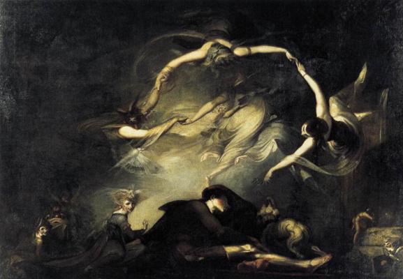 Johann Heinrich Fuessli. Dreams of the shepherds