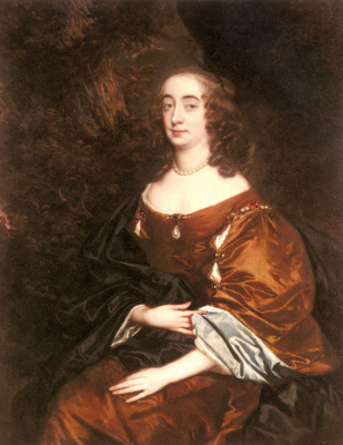 Sir peter leli. Portrait of Elizabeth Countess of cork