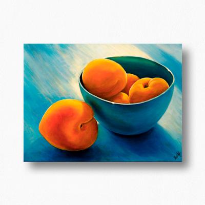 """Olga Deikova. """"Sunny apricots"""""""