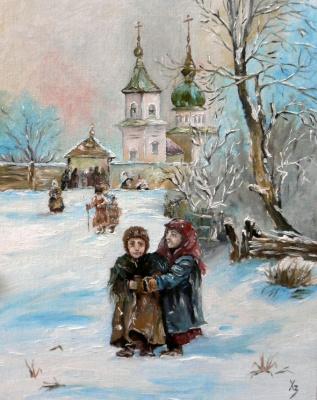 Sergei Nikolayevich Khodorenko-Zatonsky. Epiphany frosts