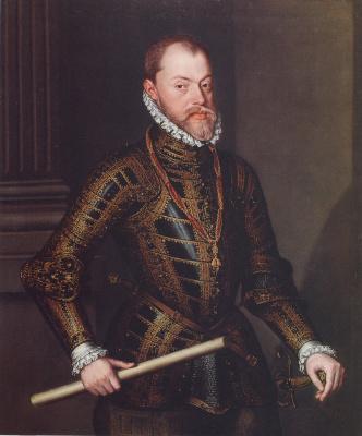 Алонсо Санчес Коэльо. Филипп II Испанский