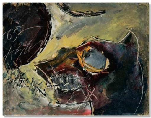 Anatoly Zverev. Dog. 1965