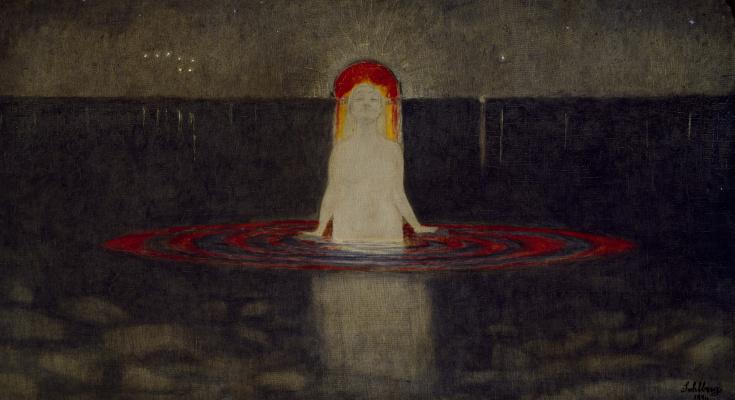 Harald Oskar Sohlberg. The Mermaid