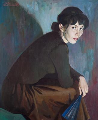 Pavel Gennadievich Dragunov. Zaituna portrait